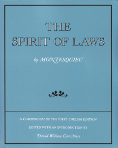 the life of montesquieu a french lawyer Montesquieu, charles louis de secondat, baron de (1689-1755): french, political and social theorist a political thinker of the top rank, montesquieu authored the.